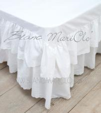 "Blanc Mariclò - Vestiletto Bianco ""Sangallo Collection"""