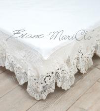 "Blanc Mariclò - Vestiletto crochet matrimoniale ""Josephine"""