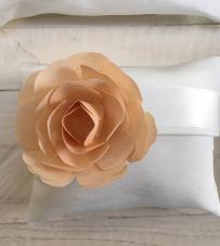 """Busta con rosa in carta personalizzata """"Flower Glam"""""""