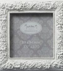 "Cornice porta foto quadrata ""Mathilde M"""