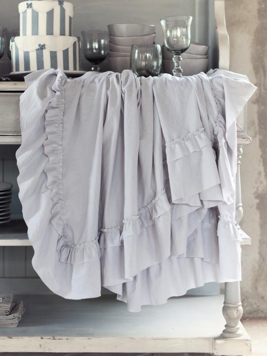Blanc Mariclò - Tovaglia grigia