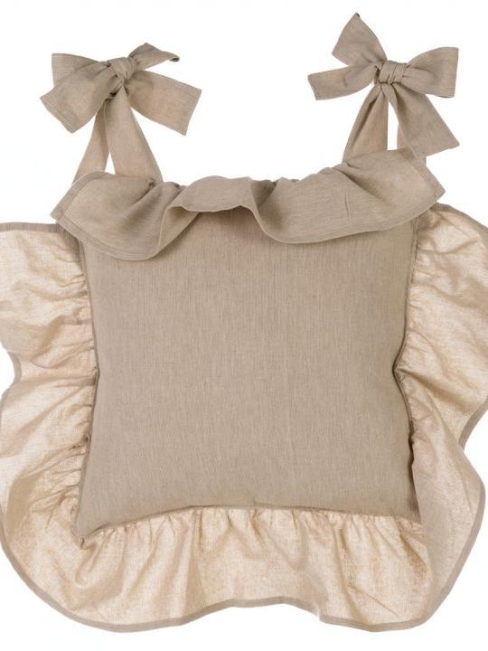 Blanc Mariclò - Copricuscino beige