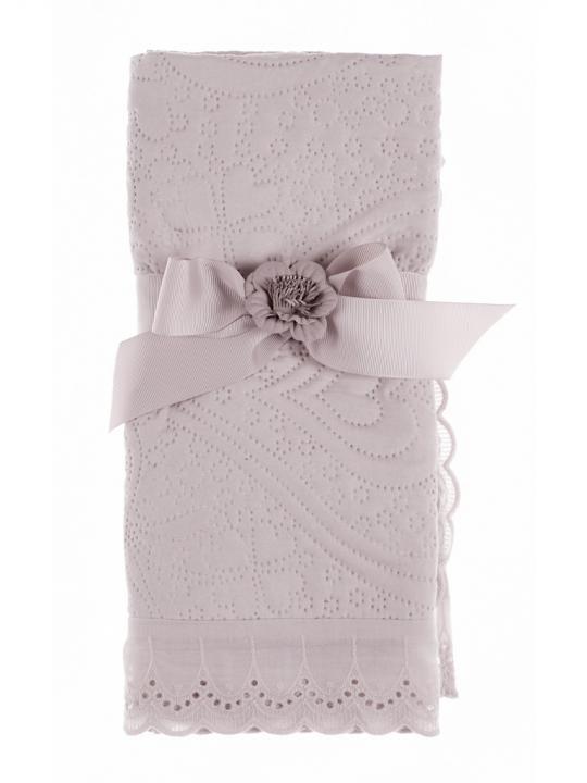 Blanc Mariclò Set 2 Federe rosa