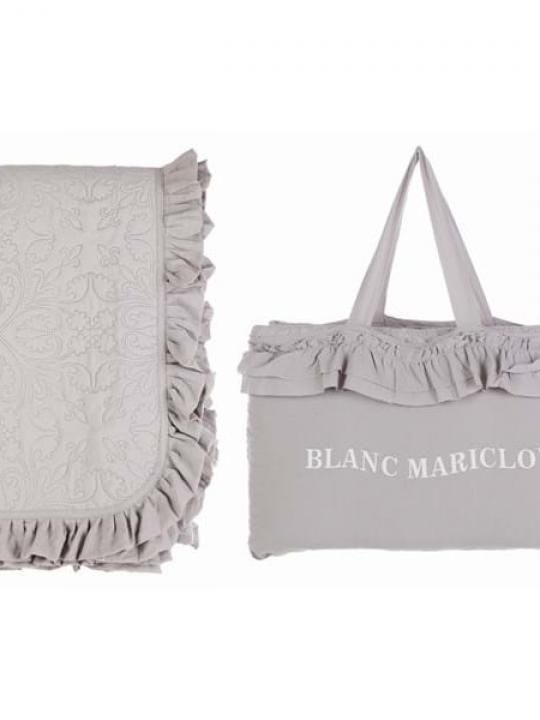 Boutis matrimoniale grigio