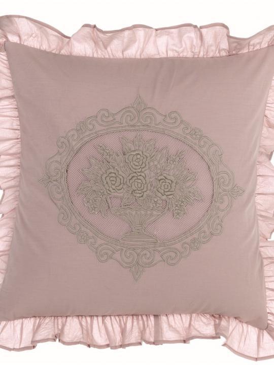 Cuscino rosa antico