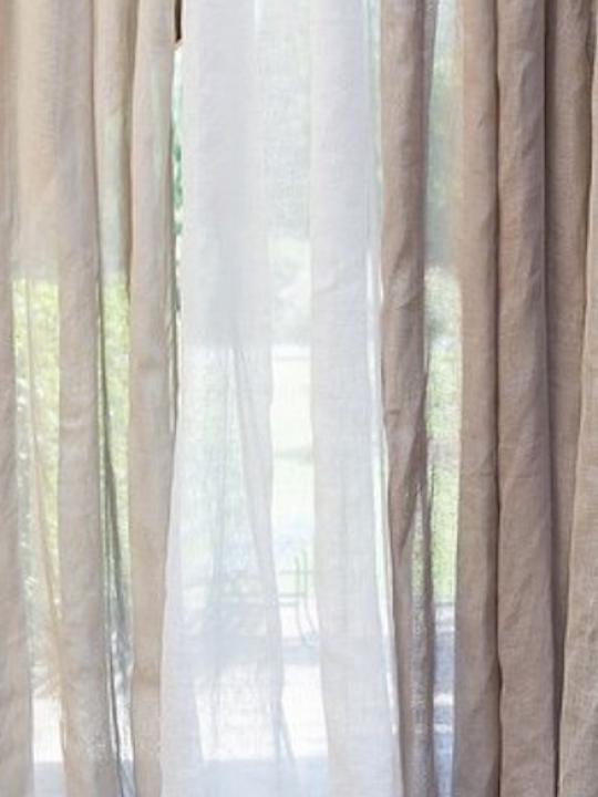 Tenda lino Bianca