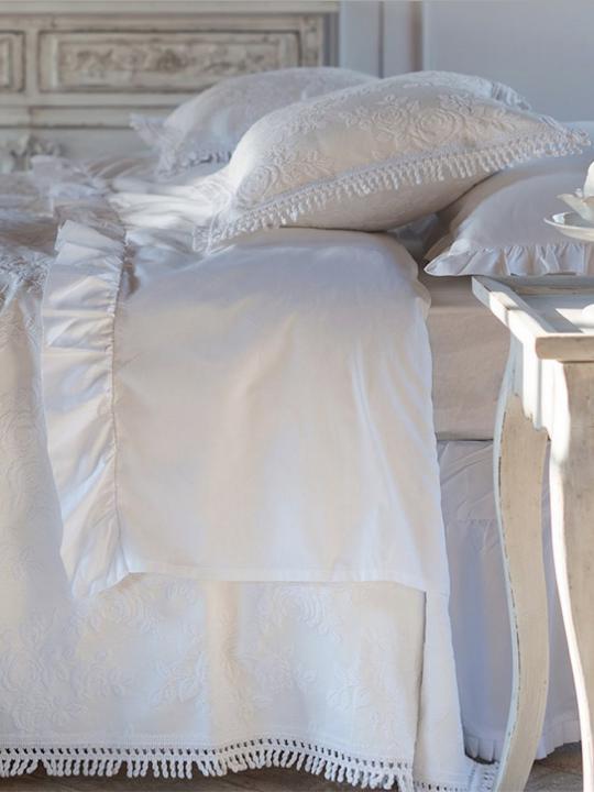 Blanc Mariclò - Completo letto bianco