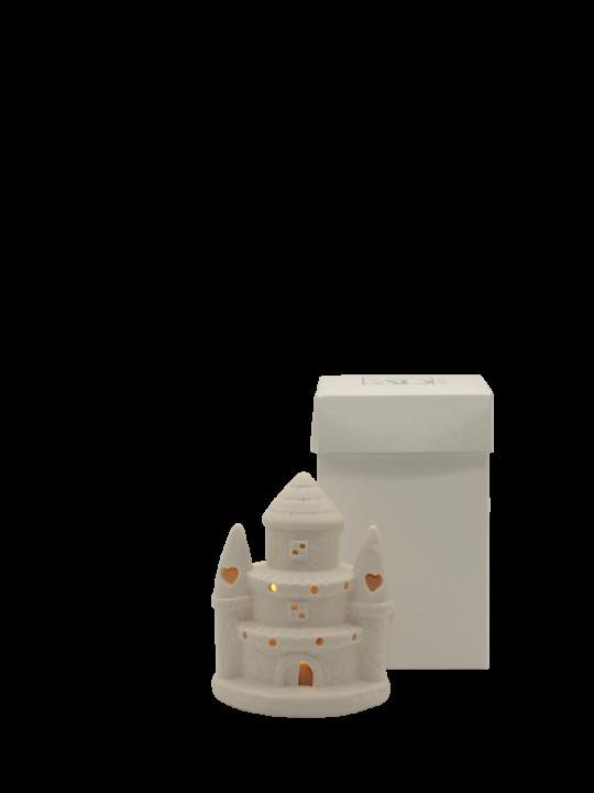Castello piccolo con led
