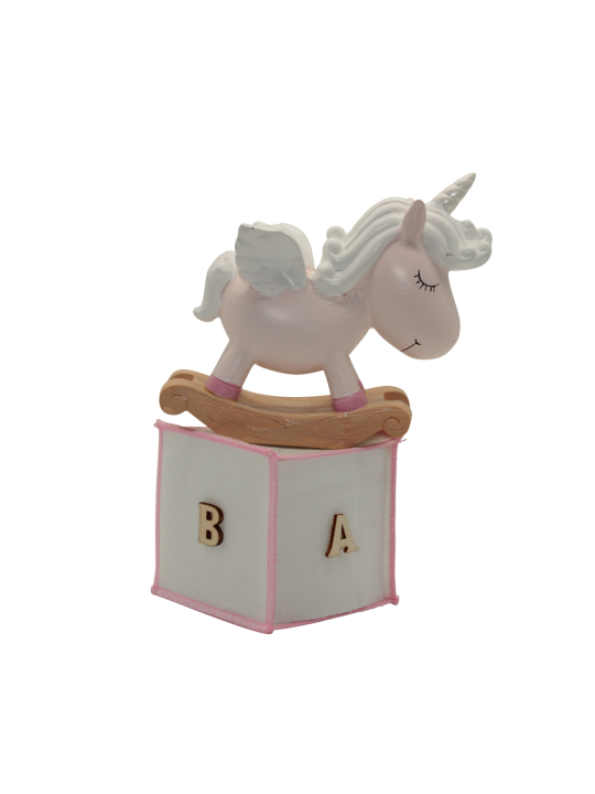 Unicorno rosa