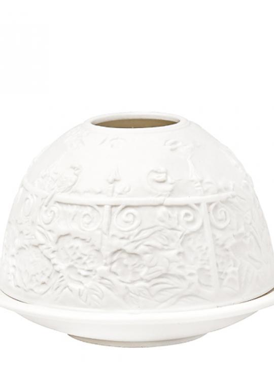 Porta candela Litofania