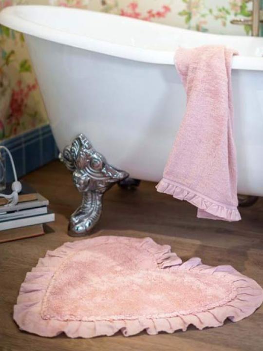Tappeto rosa