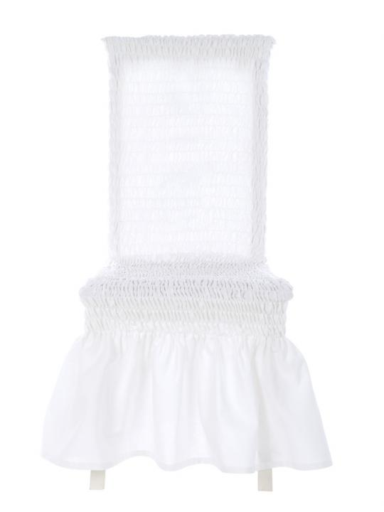 Vestisedia - coprisedia bianco