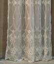 "Tenda ricamata ""Ornamental Lace Collection"" Blanc Mariclò"