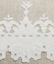 "Tenda velo in lino con mantovana ""Château"" Mathilde M."