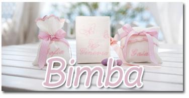 scopri le bomboniere per bimba Battesimo o nascita
